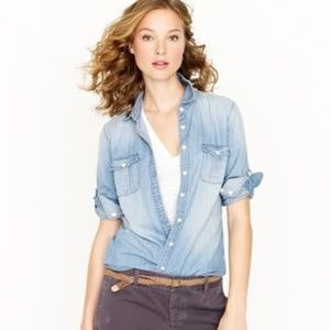 [J. Crew] Keeper Chambray button dow shirt #AA13
